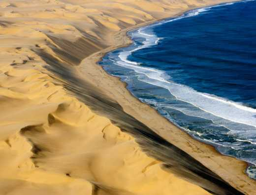 A bird's eye view of the Namib Desert