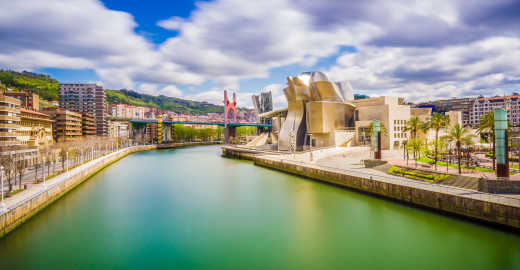 Discover the vibrant city of Bilbao on a Basque Country Tour