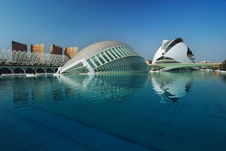 Visit the City of Arts and Sciences in Valencia, Spain on a Spain tour