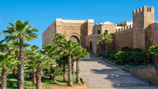 The Kasbah of Udayas in Rabat Morocco