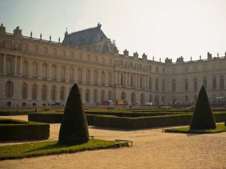 Versailles in the sunlight