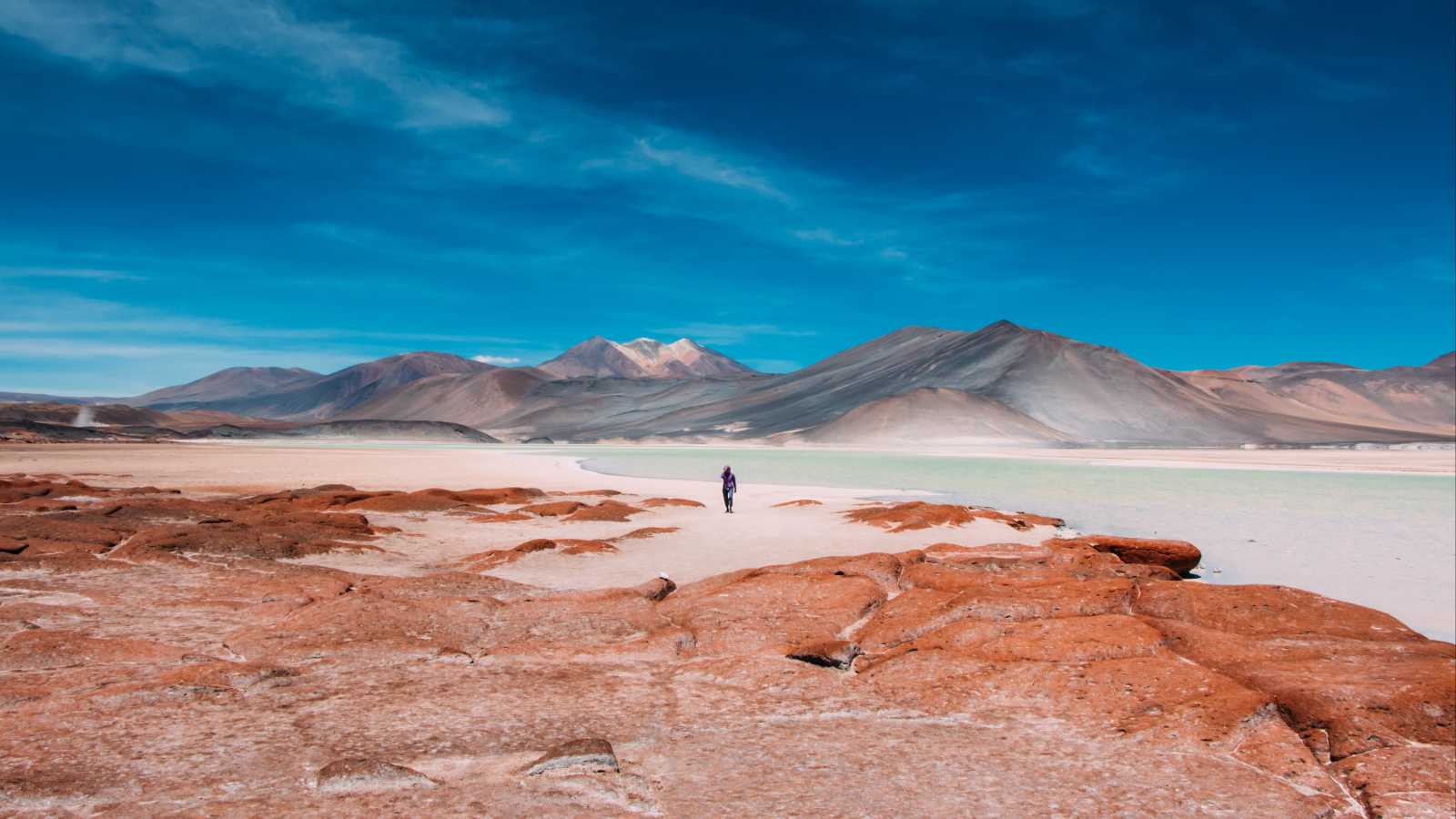 Discover the salt flats of the Atacama Desert on a Chile Tour