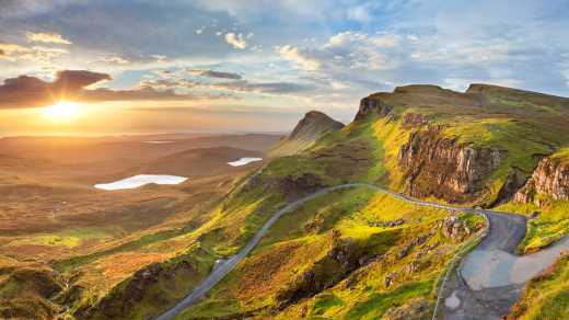 Sunset on the Isle of Skye