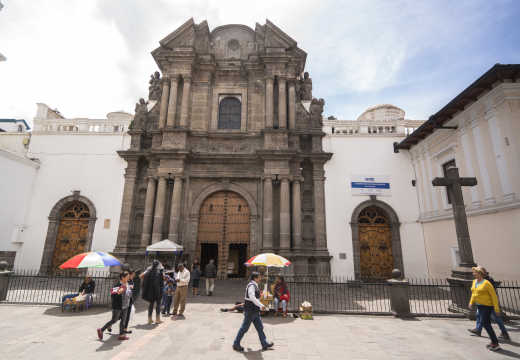 El Sagrario Church, Quito