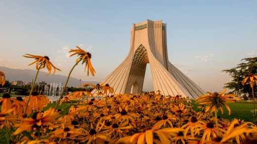 Azadi Tower in Irans Hauptstadt Teheran