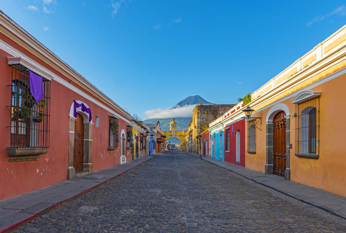 Discover colorful colonial towns and volcanos on a tour of Central America