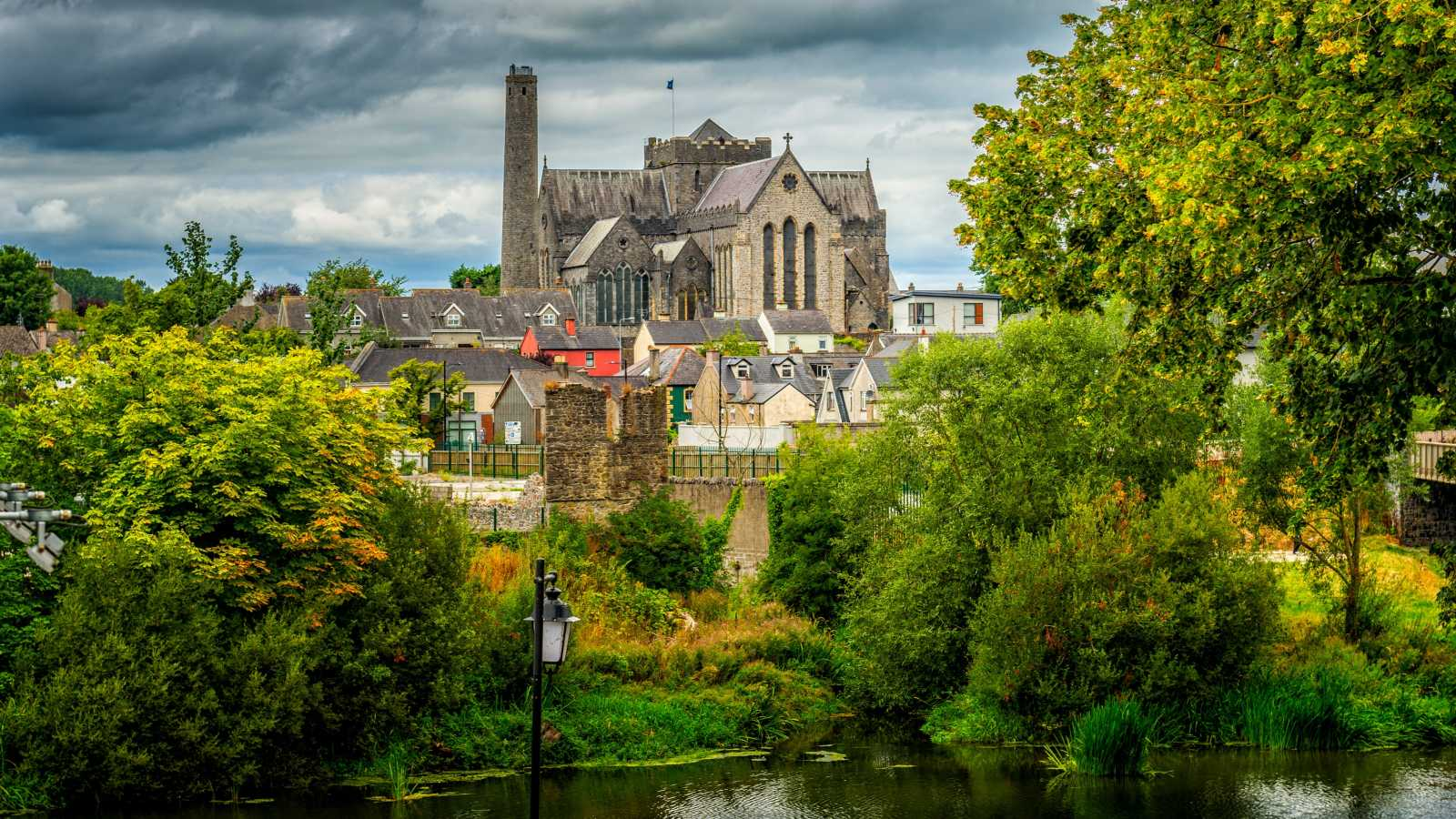 Saint Canice Kathedrale in Kilkenny, Irland