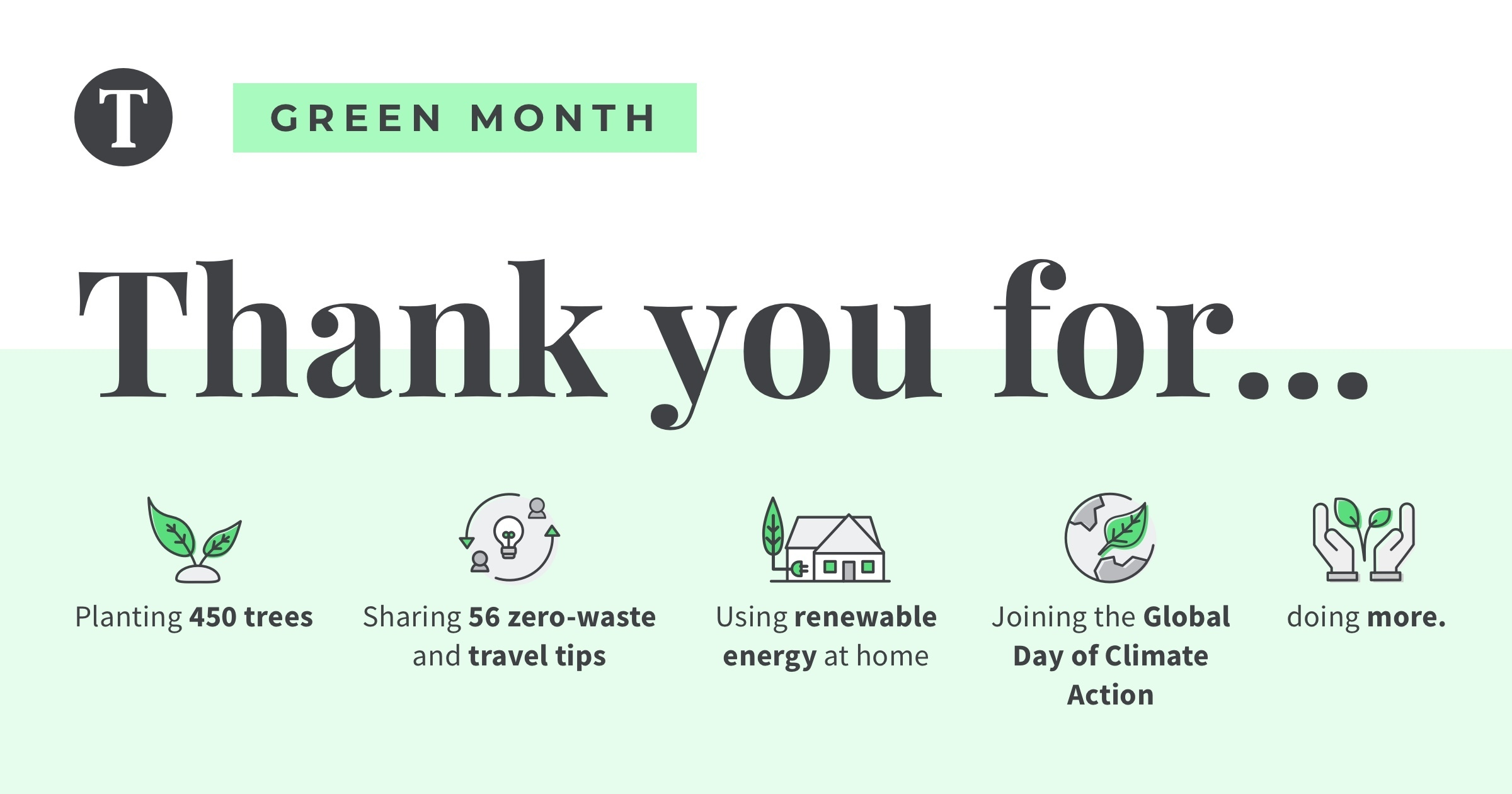Tourlane green month