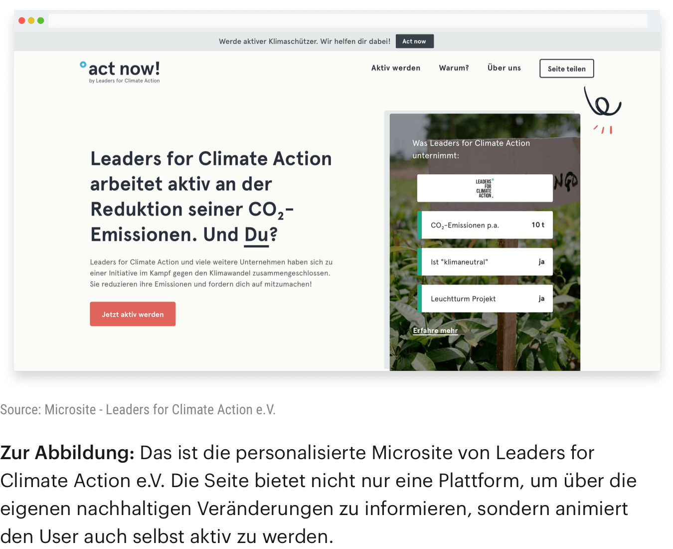 microsite German