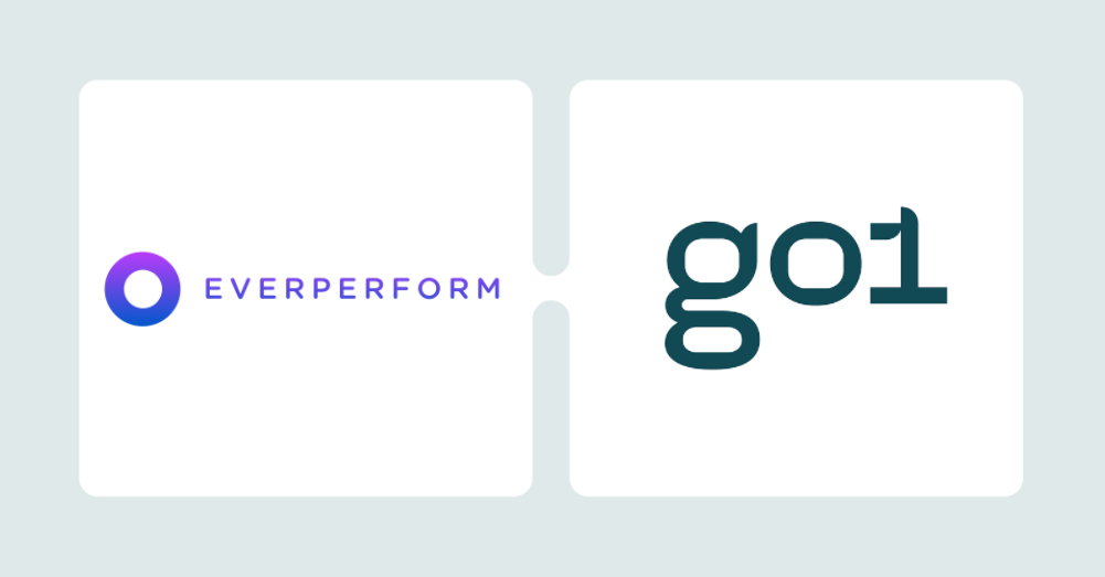 Joint logos of Evererform and GO1