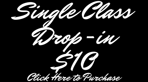 Single Class Drop-in $10