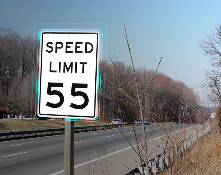 Speed Limit Sign Detection