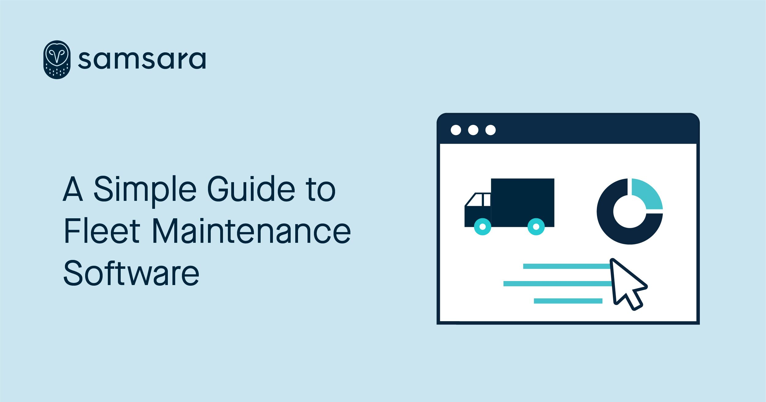 A Simple Guide to Fleet Maintenance Software