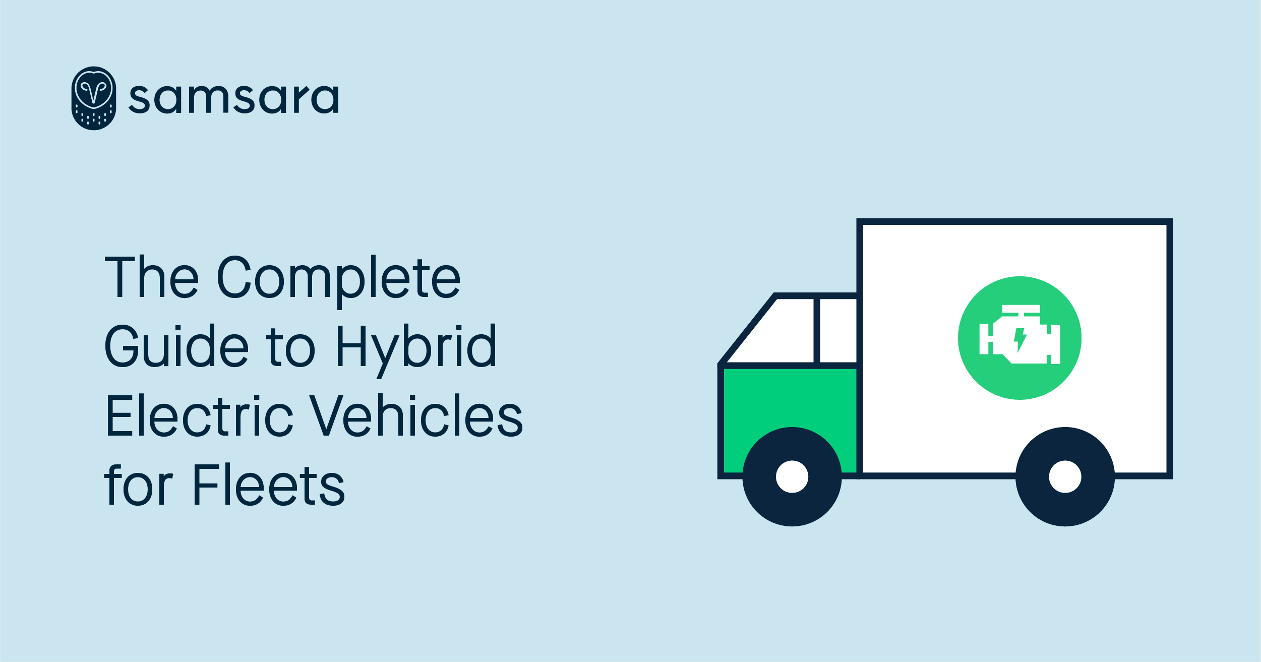 Hybrid electric vehicles header image.