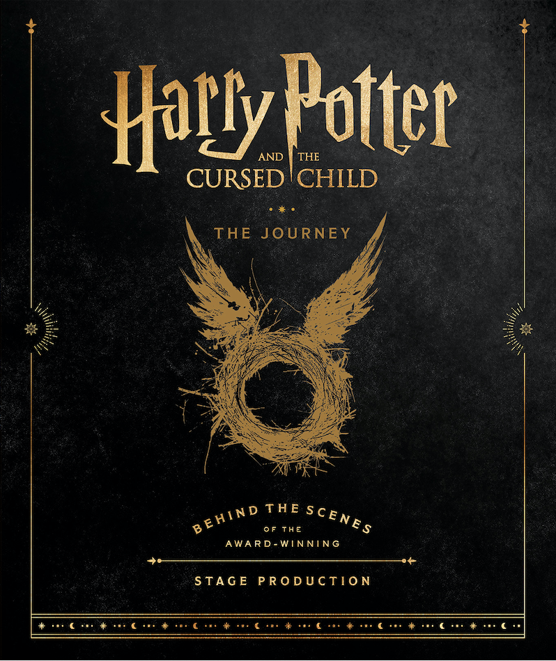 Cover revealed for Harry Potter and the Cursed Child: The Journey - Pottermore