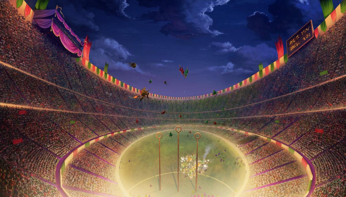 Quidditch pottermore - Harry potter coupe du monde de quidditch ...