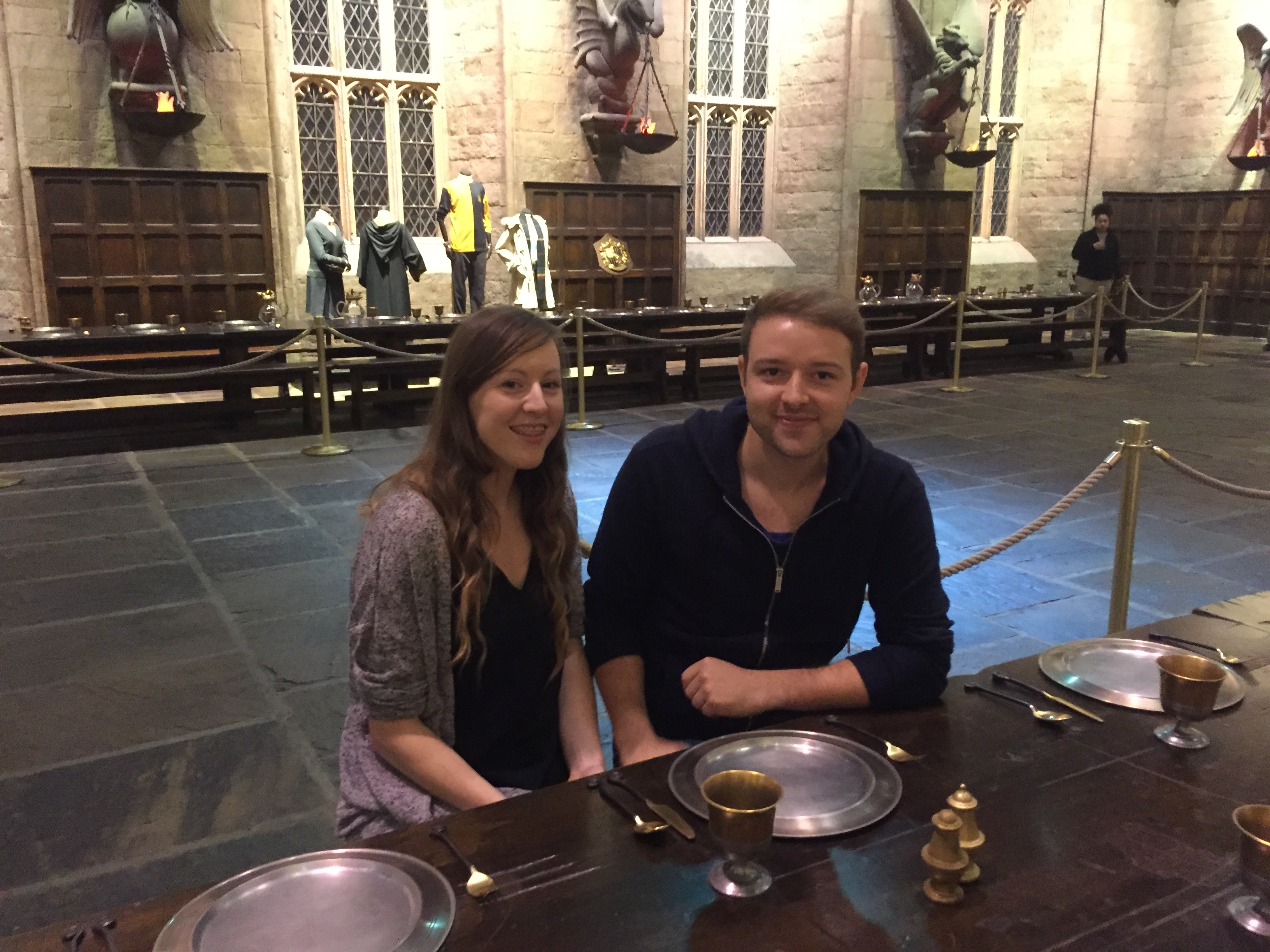 Caryl and Josh at the Harry Potter September Screenings 2015