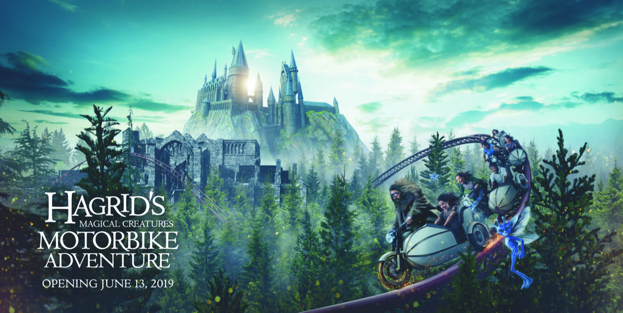 Image result for hagrid's magical motorbike adventure
