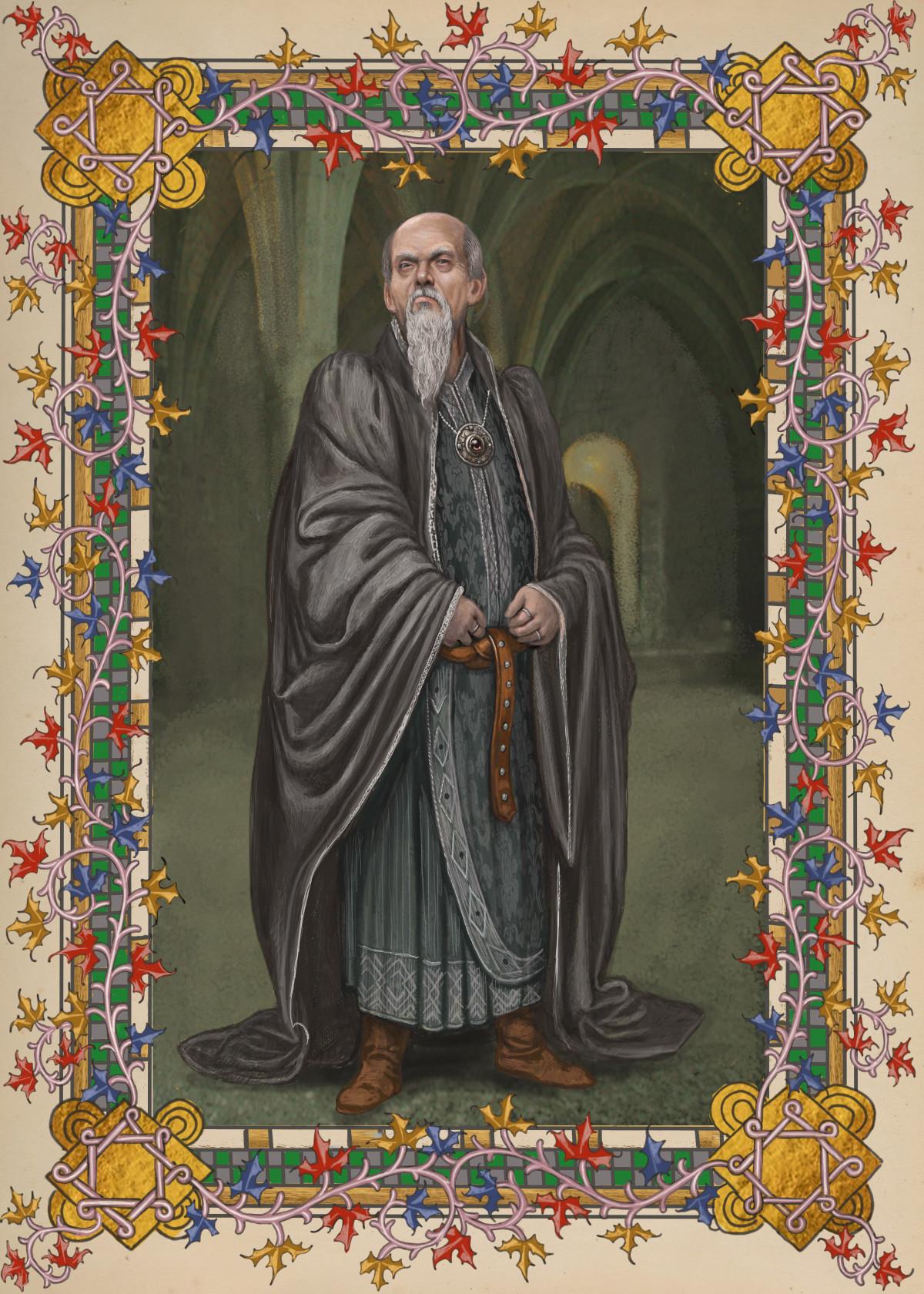 Salazar Slytherin Pottermore