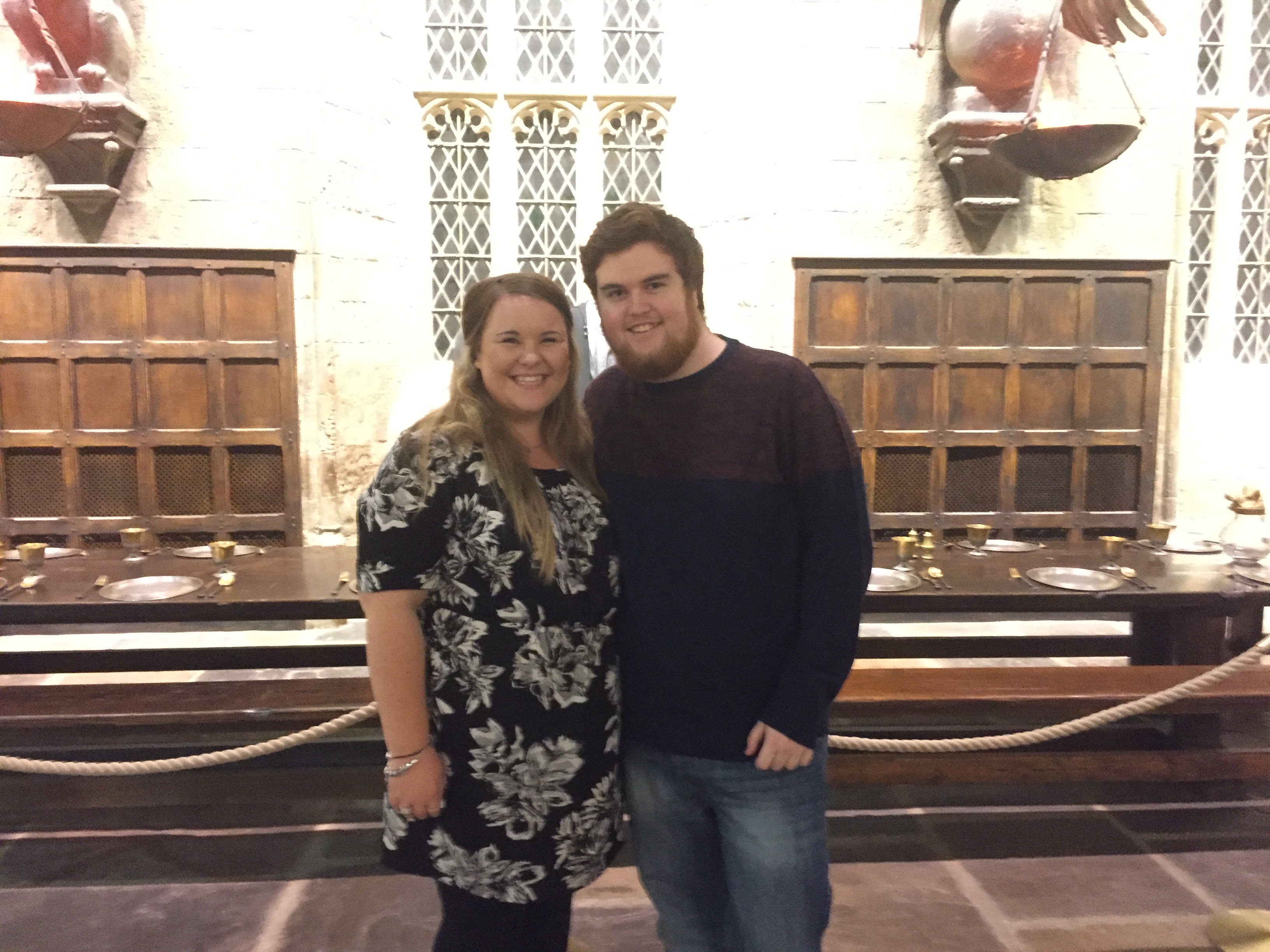 Sorrell and Mike at the Harry Potter September Screenings 2015
