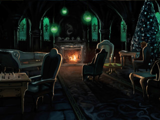 pottermore images slytherins common - photo #13