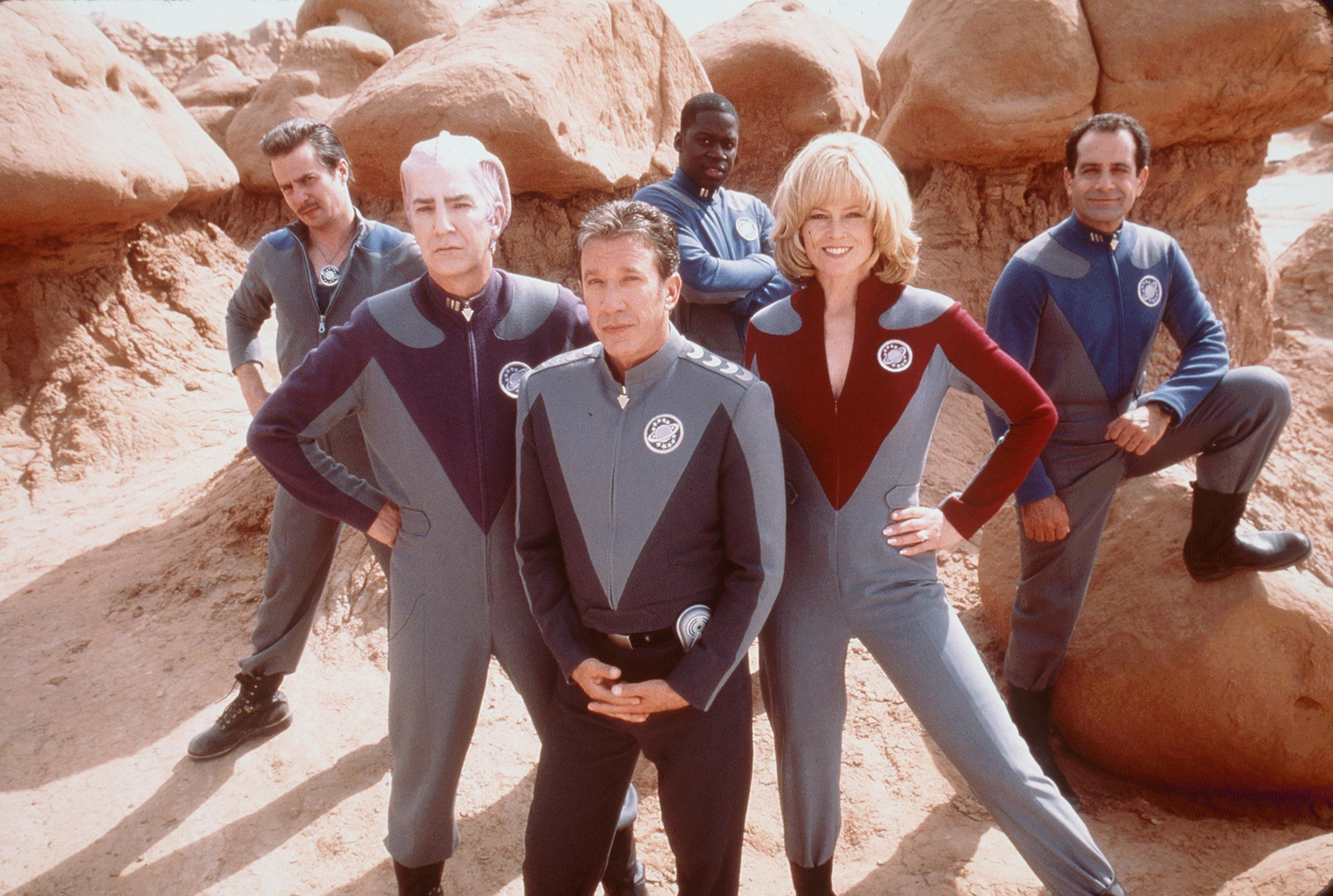 Alan Rickman in Galaxy Quest