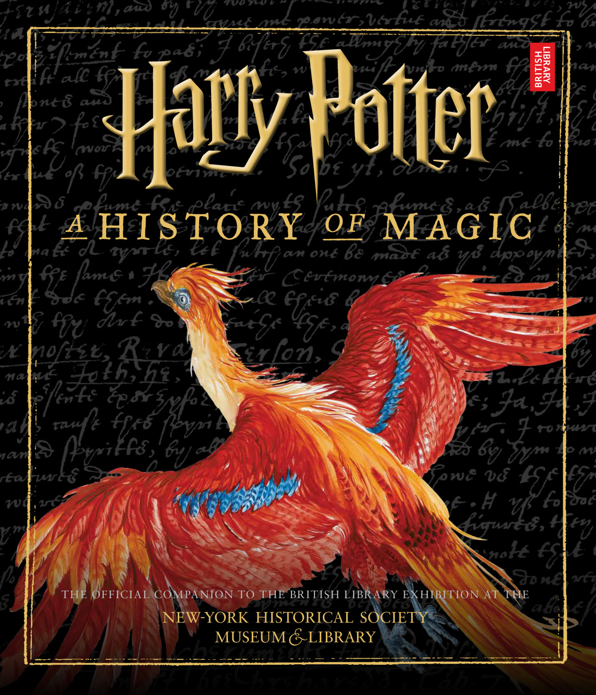 Harry Potter: A History Of Magic US Companion Book Cover
