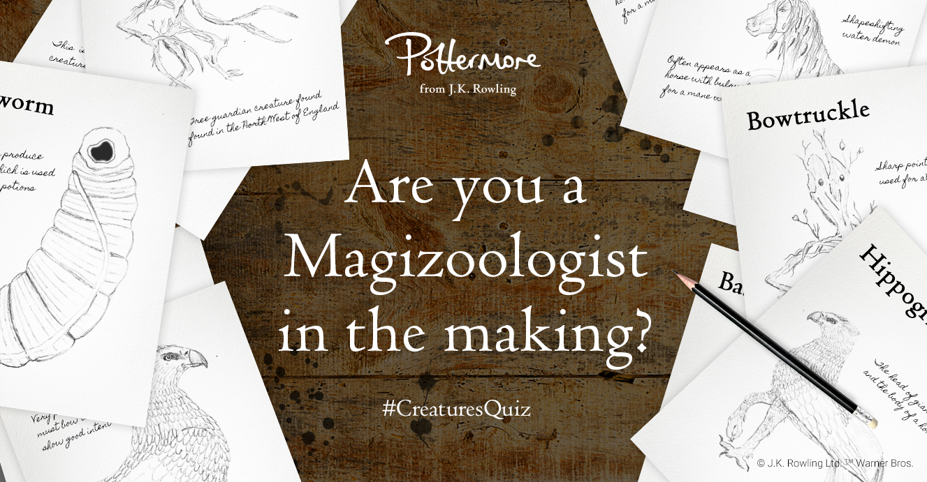 The magical creatures quiz - Pottermore