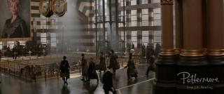 MACUSA lobby Aurors Seraphina Fantastic Beasts teaser trailer pic 8