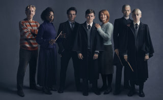Members of the Broadway Premiere cast of Harry Potter and the Cursed Child. Photography by Charlie Gray
