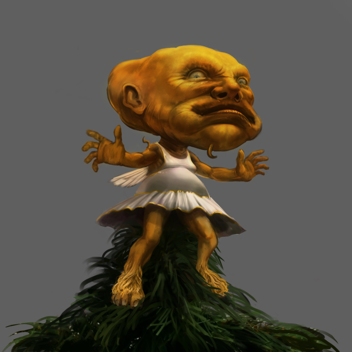 A rather ugly angel - Pottermore