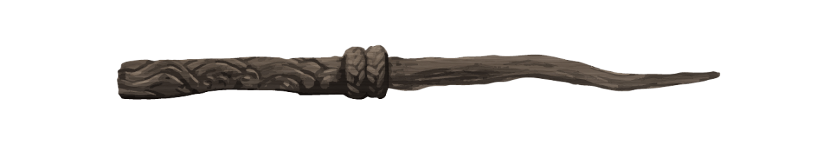 Silver Lime Wood ~ Wand pottermore