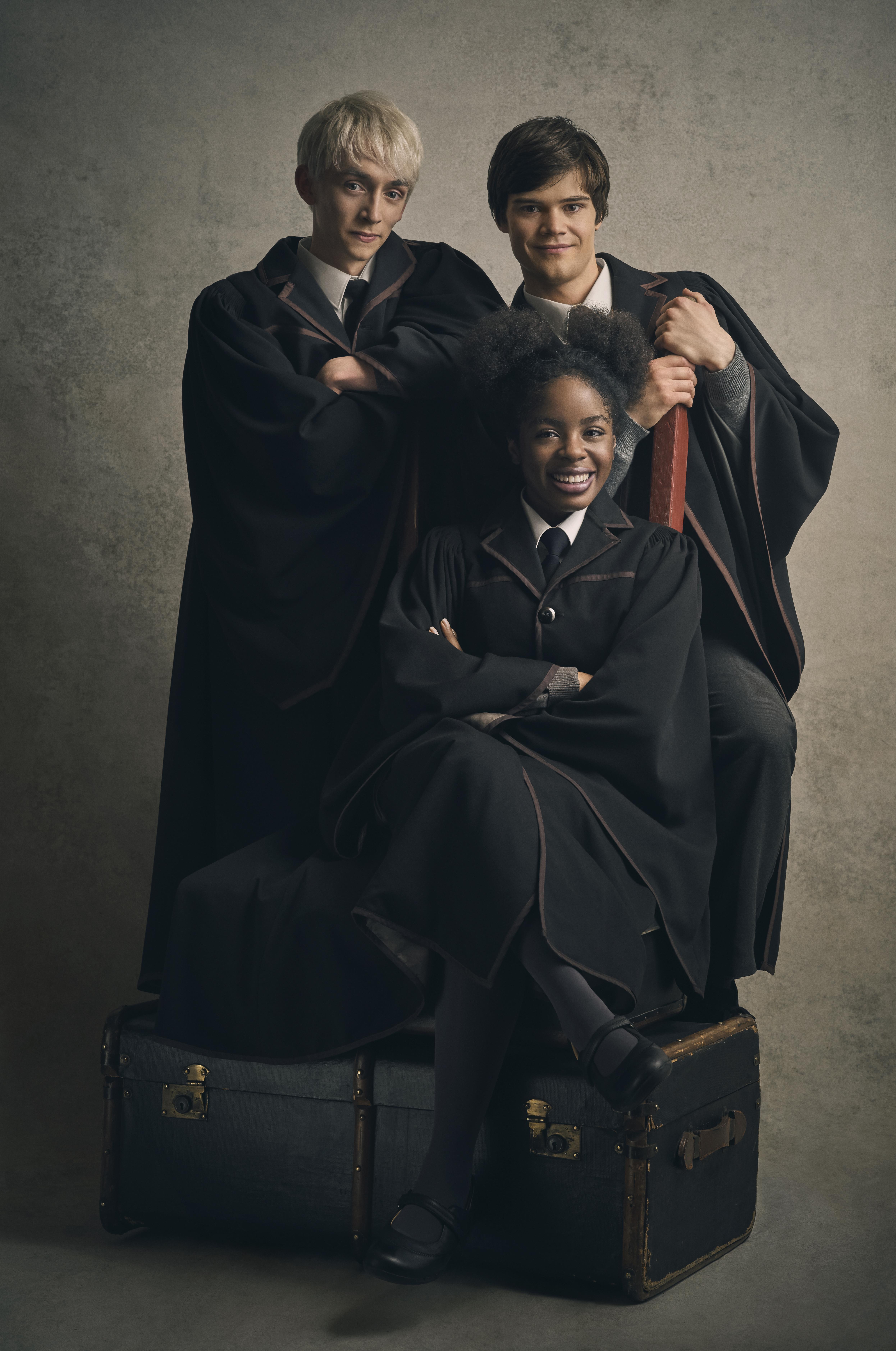 Scorpius Malfoy, Albus Potter and Rose Granger-Weasley
