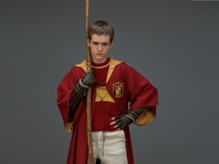 Oliver Wood in his quidditch robes