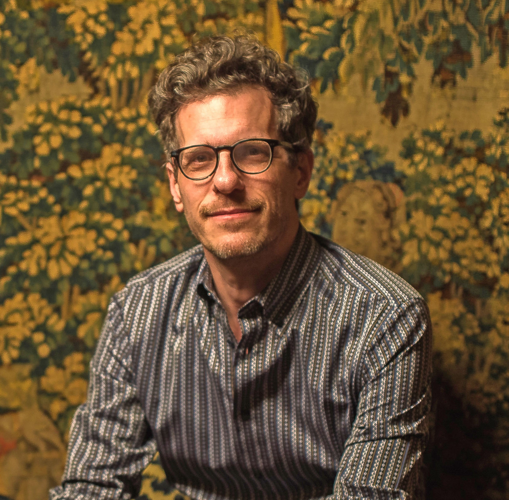 Photo of illustrator Brian Selznick, cover designer for Scholastic's 20th anniversary edition of Harry Potter