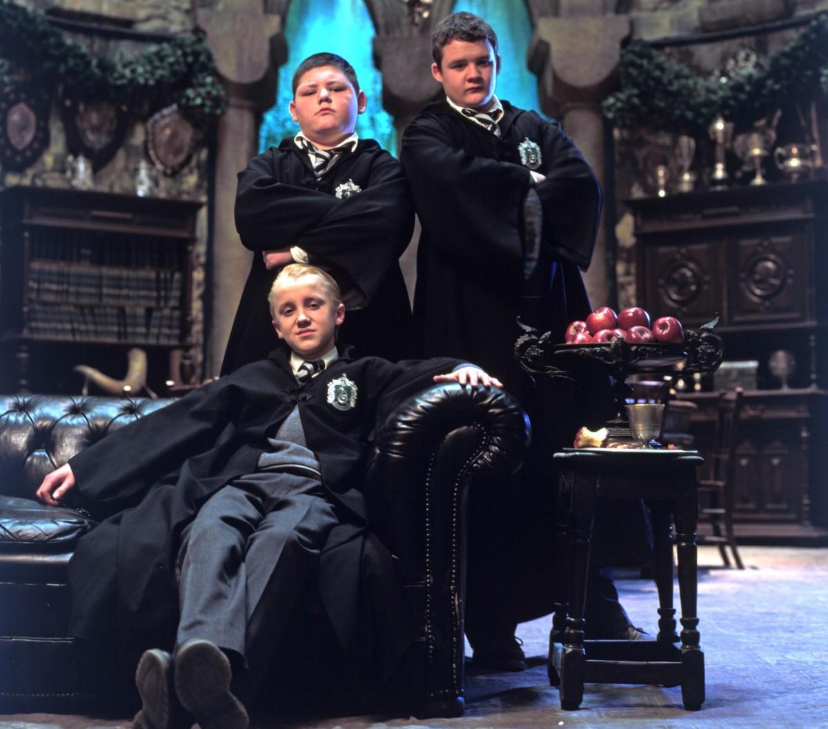Resultado de imagen de Malfoy, Crabbe y Goyle