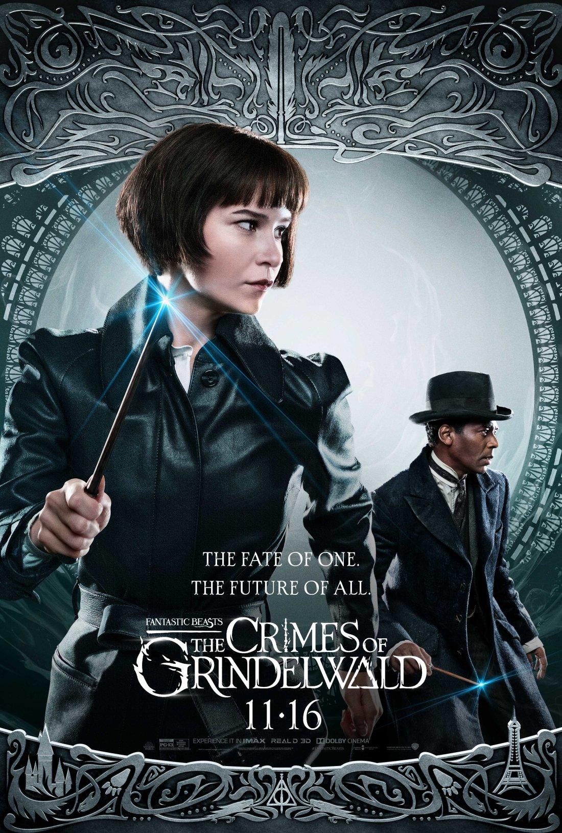 Poster de animais fantásticos os crimes de grindelwald