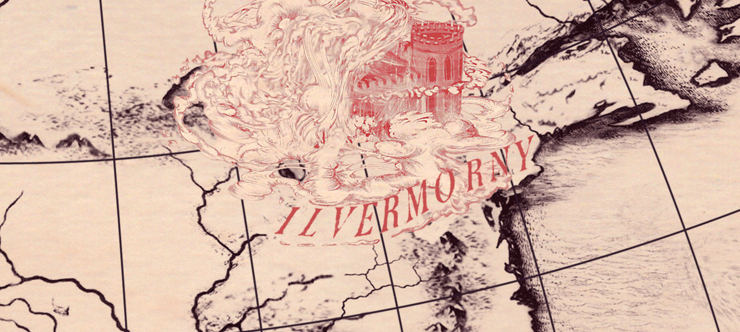 ilvermorny harry potter map sarah kohl nerdy blogs