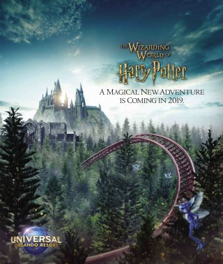 Universal Orlando Resort Shares First Glimpse of New Coaster Experience Coming to The Wizarding World of Harry Potter in 2019