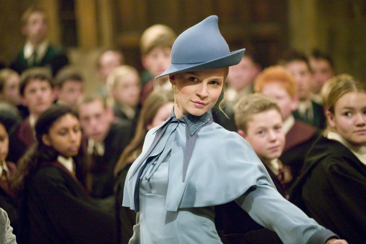 Every time Fleur Delacour showed us how to do life ...