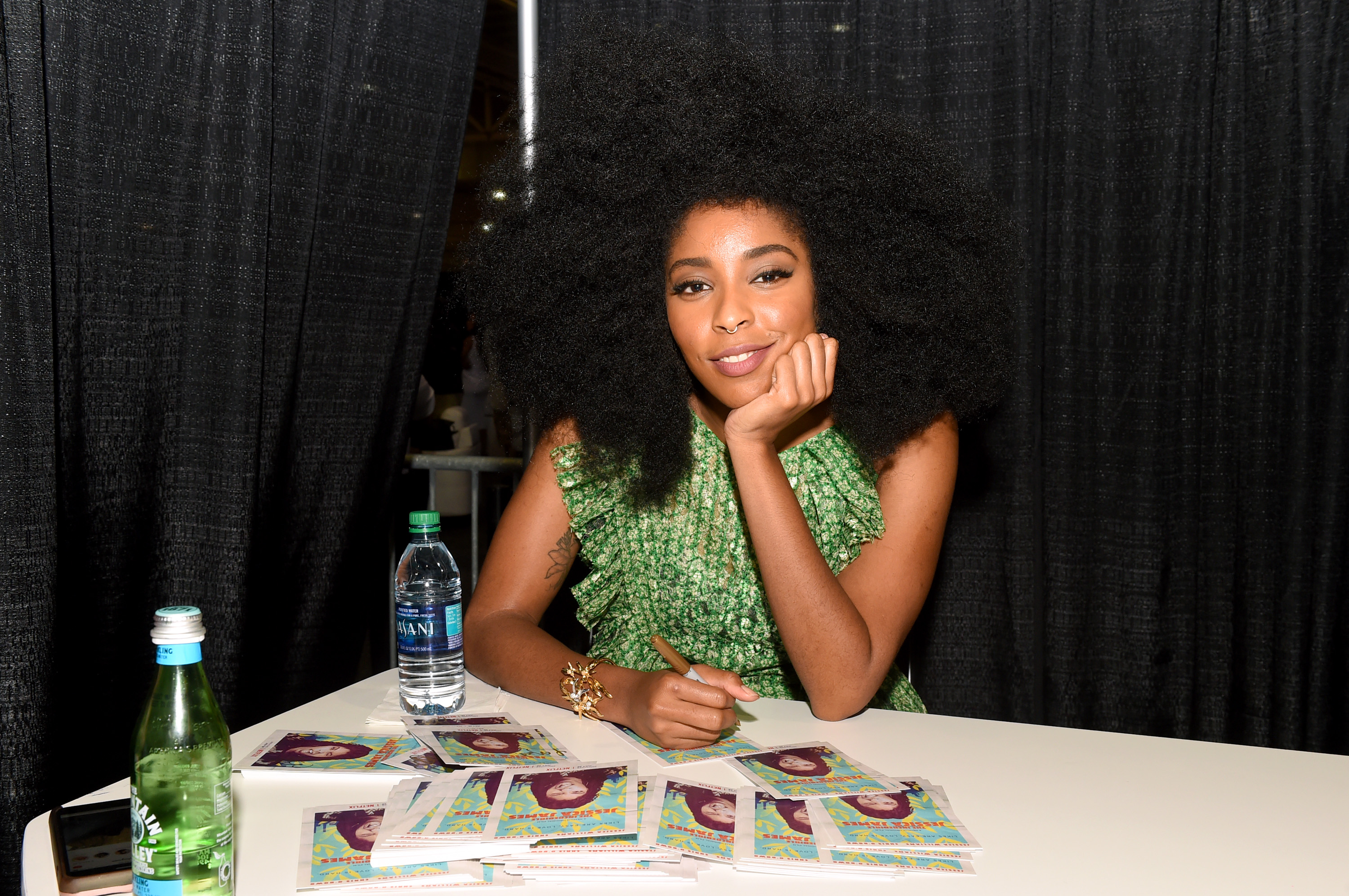 Actor and comedian Jessica Williams in New Orleans, Louisiana 2017