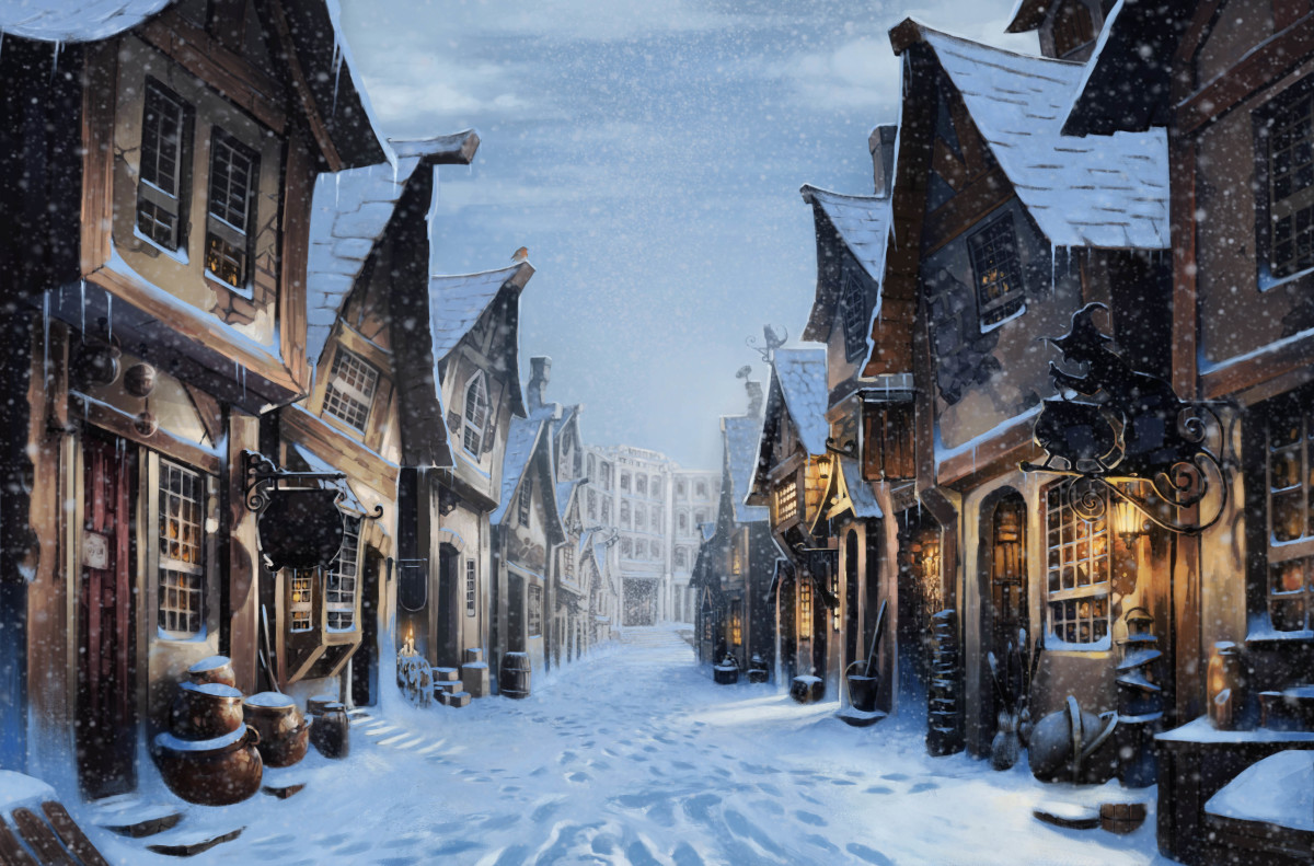 Christmas Harry Potter.Festive Harry Potter Moments To Get You In The Christmas Mood