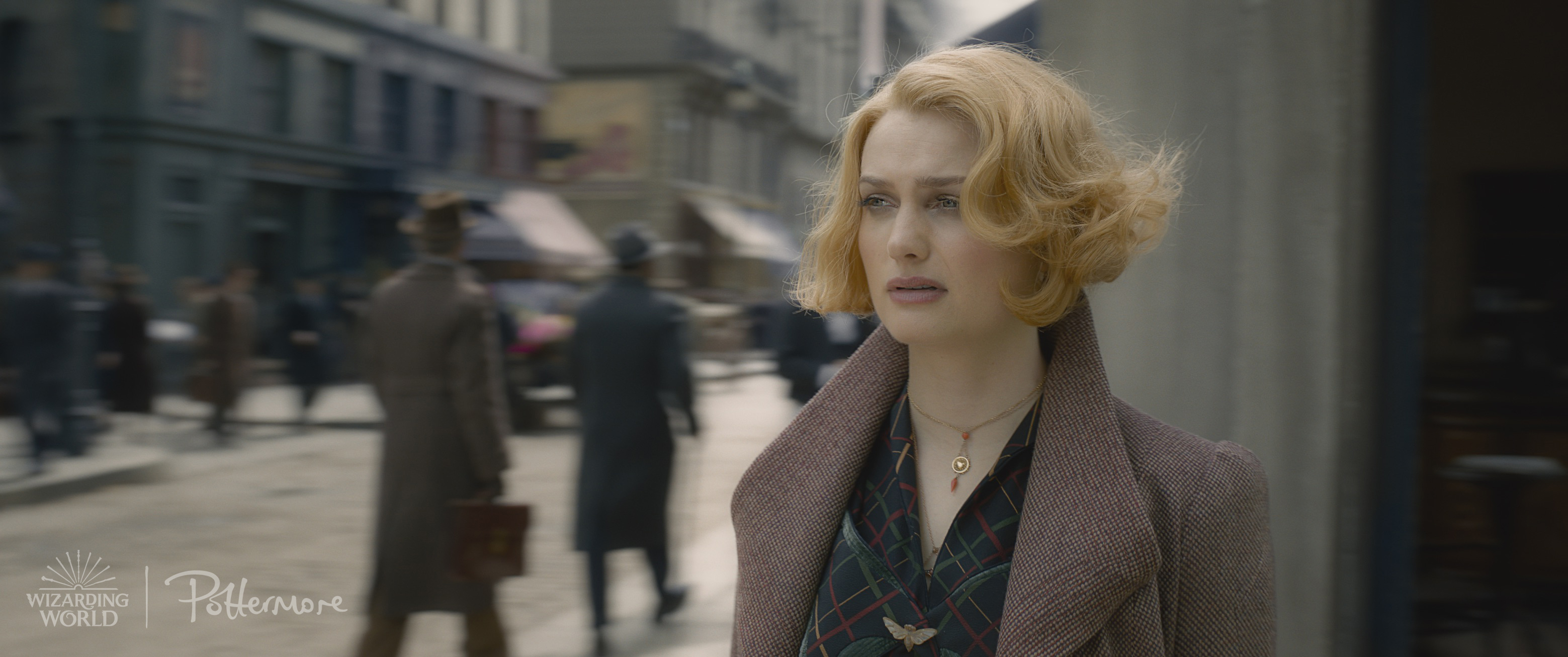Queenie Goldstein in the trailer for Fantastic Beasts: Crimes of Grindelwald
