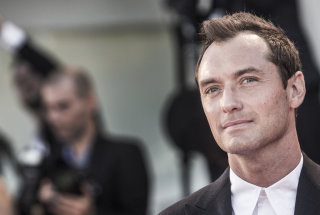 Jude Law at the 2016 Venice Film Festival