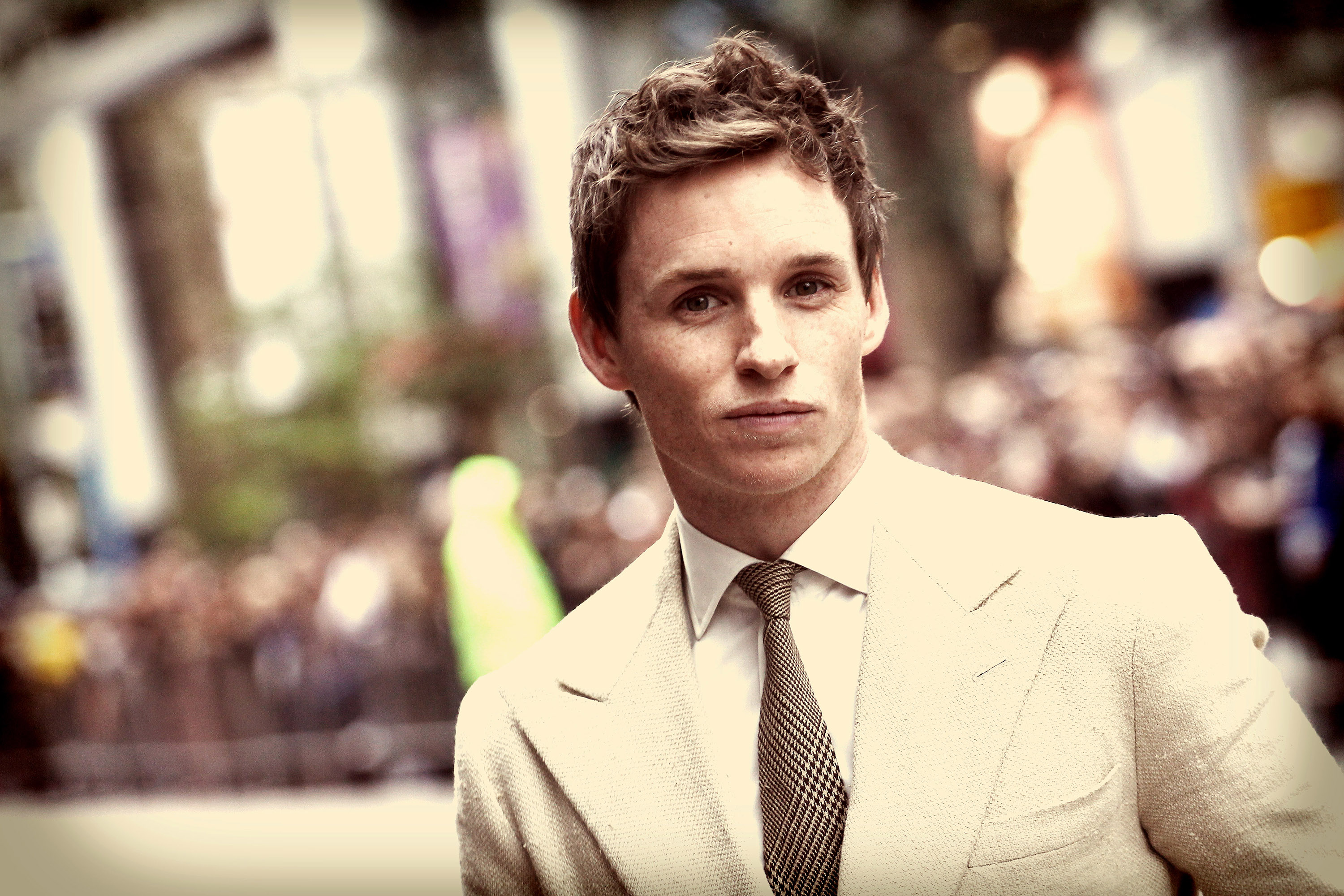 Actor Eddie Redmayne attends The Danish Girl premiere during the 2015 Toronto International Film Festival.