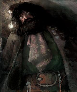 Hagrid illustration by Jim Kay