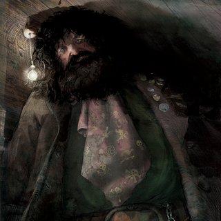 Hagrid Illustration By Jim Kay The Half Giant Hogwarts