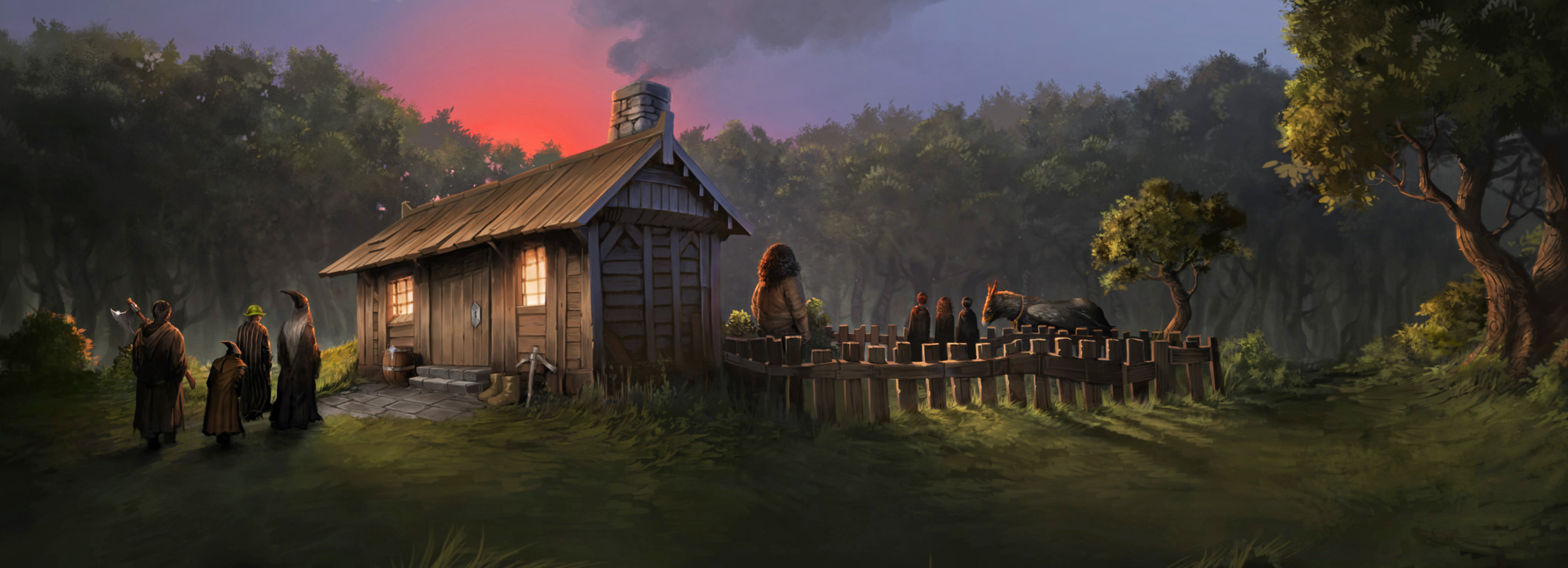 Why hagrid s hut might be the best place to live pottermore What house was hagrid in