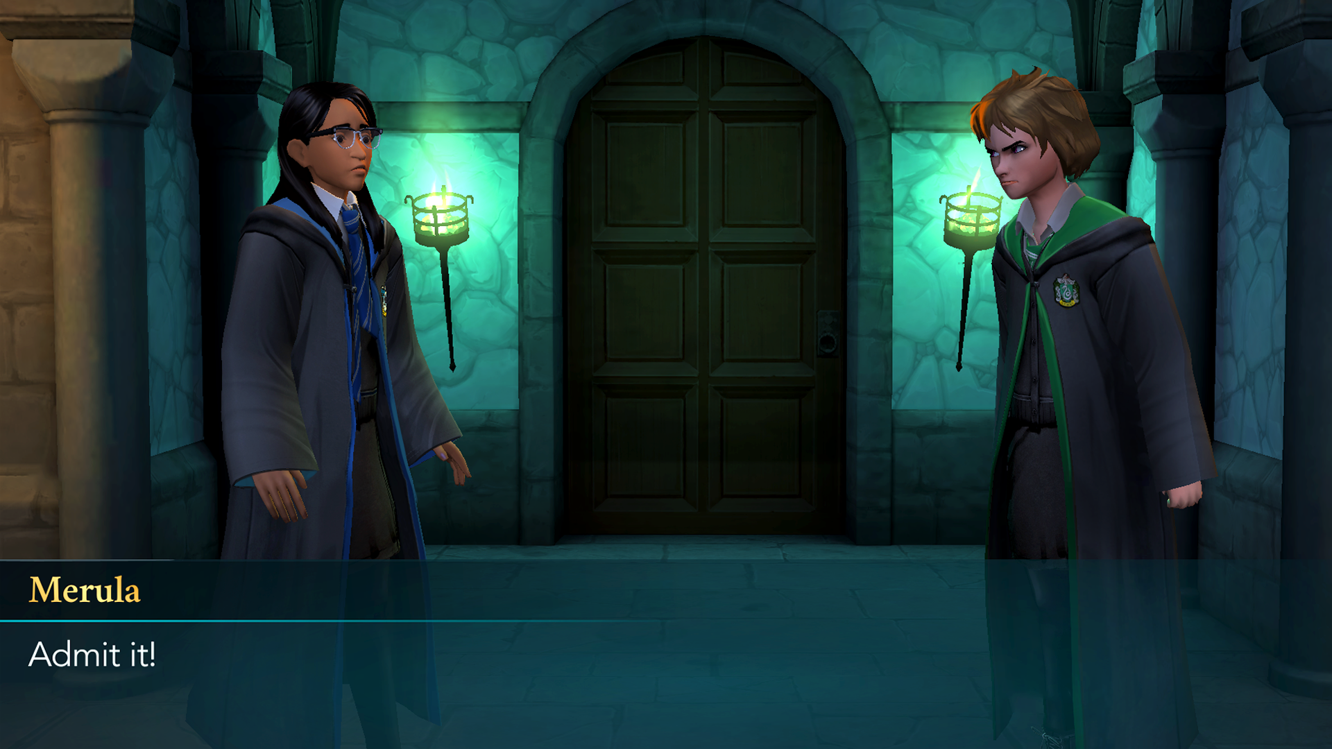 Confrontation with Merula Hogwarts Mystery