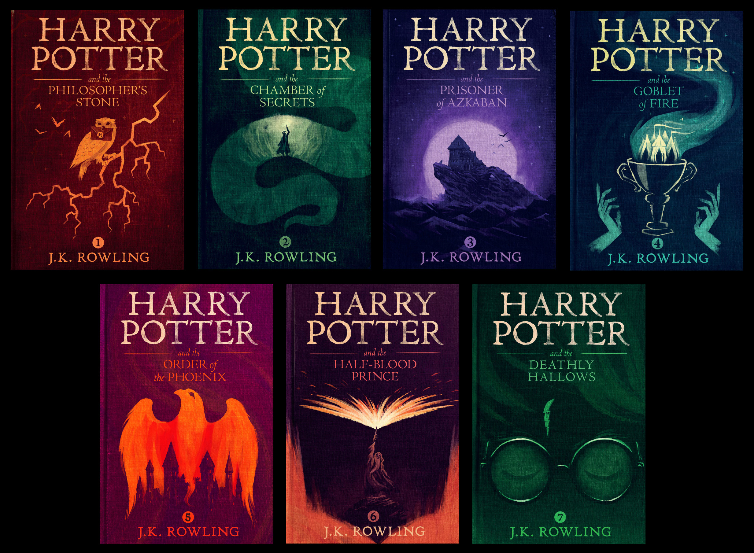 Harry Potter Book Cover Creator : Olly moss designs new harry potter covers for pottermore